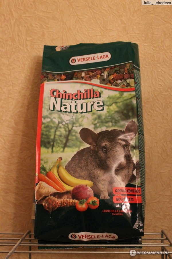 шиншилла и корм Versele-laga Chinchilla Nature Complete